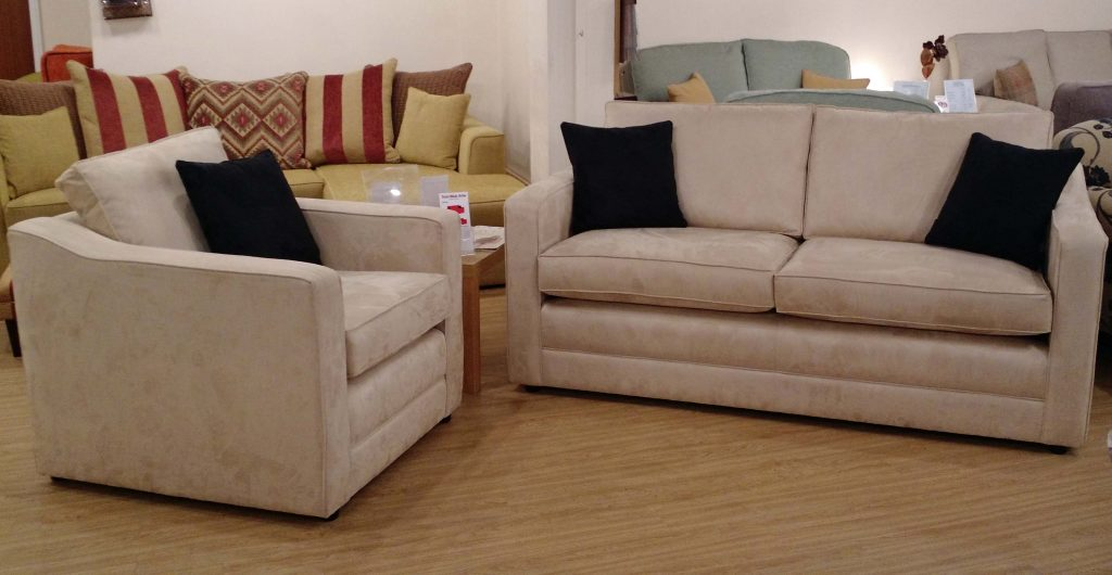 Princeton 3str Sofa And Chair Ex Display Tailor Made Sofas